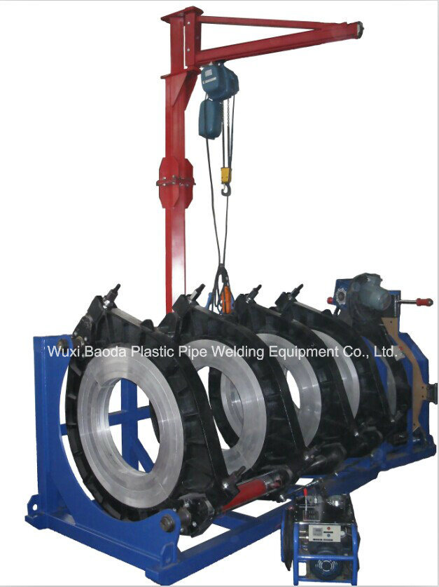 Plastic Pipeline Welding Machine (BRDH 800, Hydraulic)