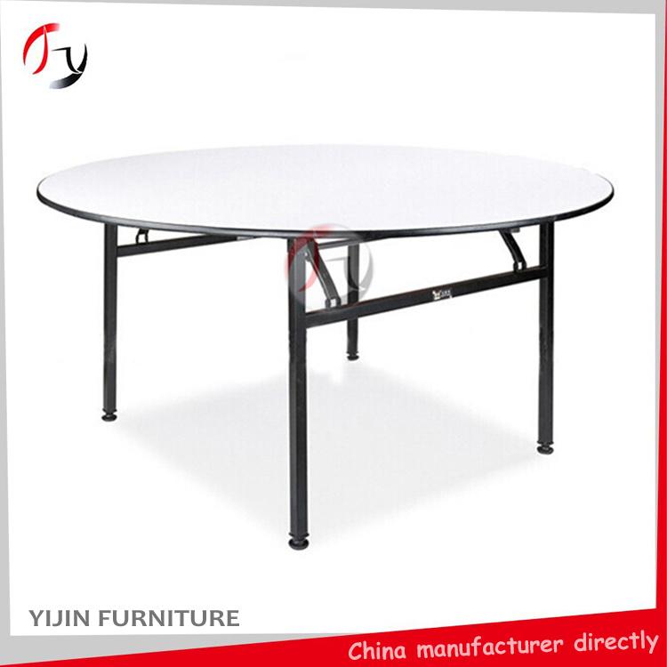 Foldable Round Wedding Hotel Restaurant Banquet Table (BT-01-1)