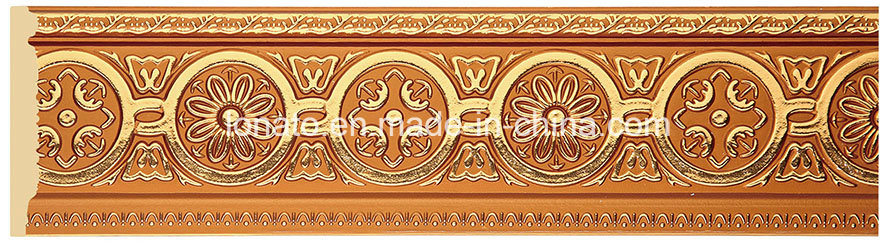 Wholesale PS Foam Hot Stamping Skirting for Floor Decoration