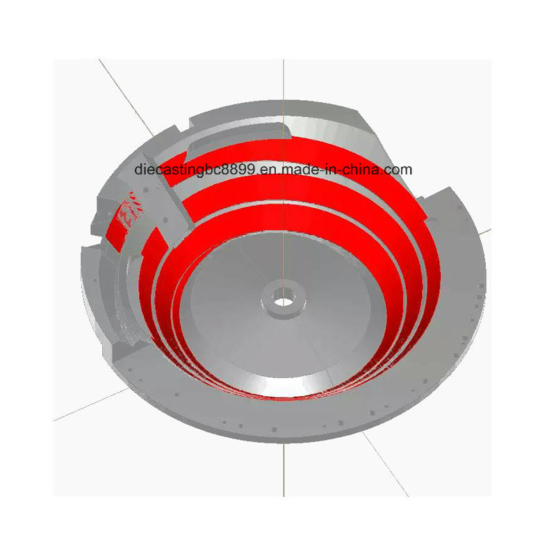 CNC Four or Five Axis Milling Machining Parts