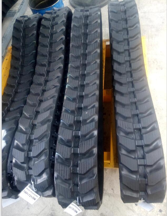 Rt 180X72k Rubber Track for Mini Excavator