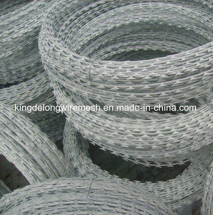 High Tensile Strength Galvanized Razor Barbed Wire (KDL-23)