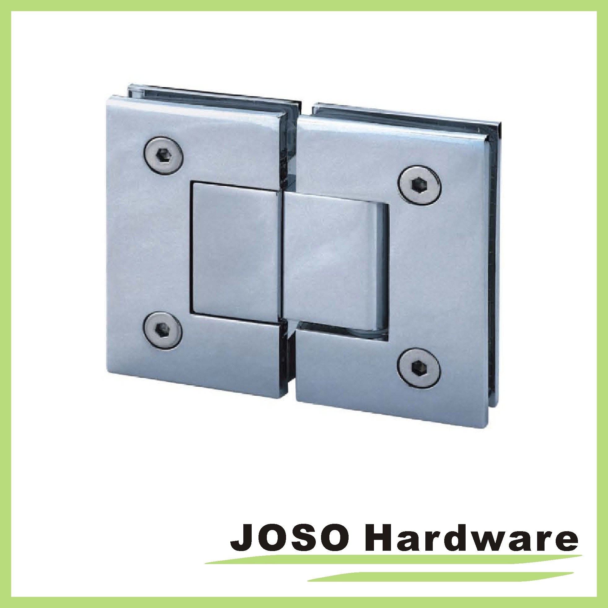 135 Degree Glass to Glass Brass Mount Shower Hinges Bh2003