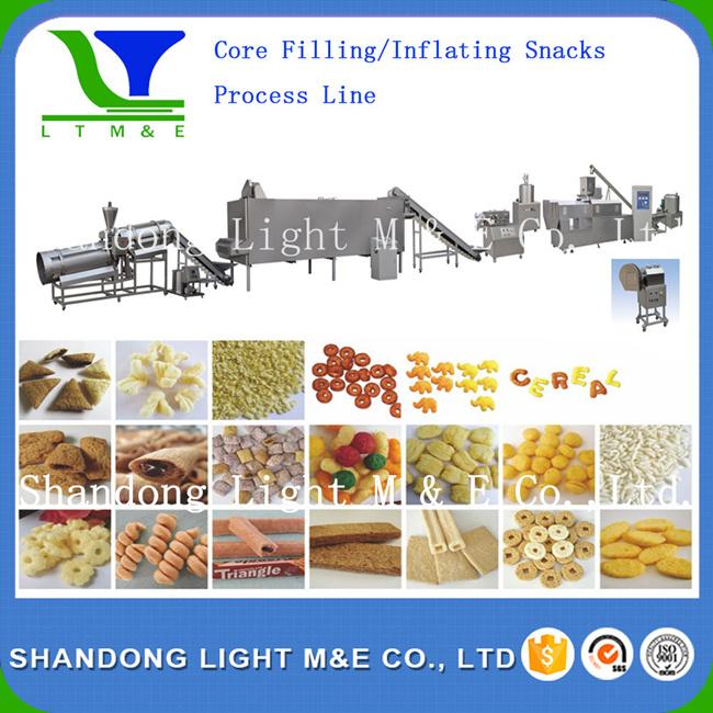 Inflating Snacks Food Processing Line (LT65, LT70, LT85, A85)