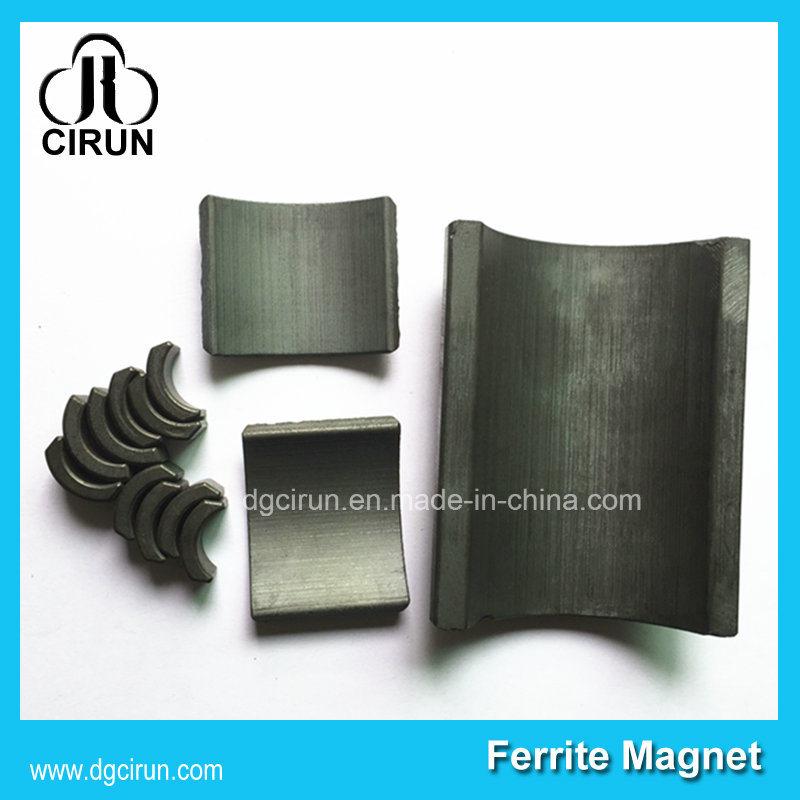 Custom Arc Shape Ceramic Ferrite Motor Magnets Free Energy