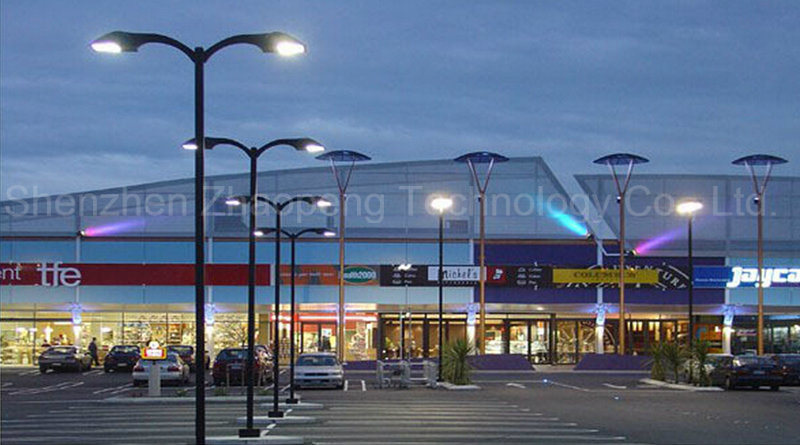 Dlc UL 80W 100W 150W 200W LED Parking Lot Light, 200W LED Shoebox Light