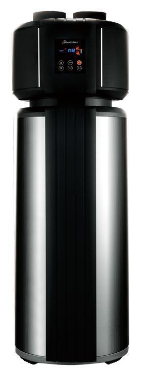 Integrated Air Source Heat Pump (top vent)