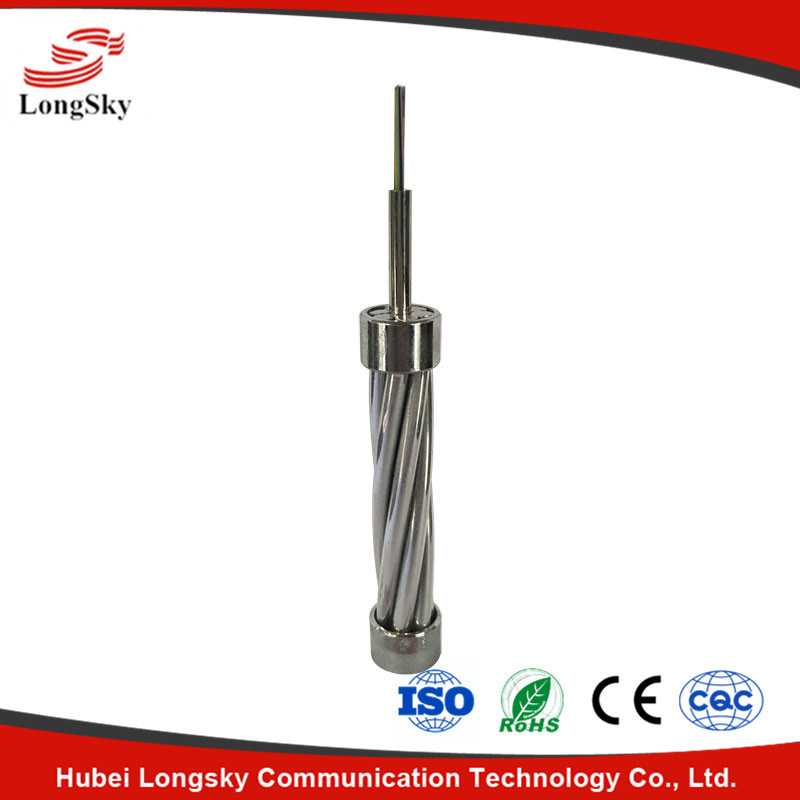 Center-Based Stainless Steel Tube Opgw Optical Cable-Opgw