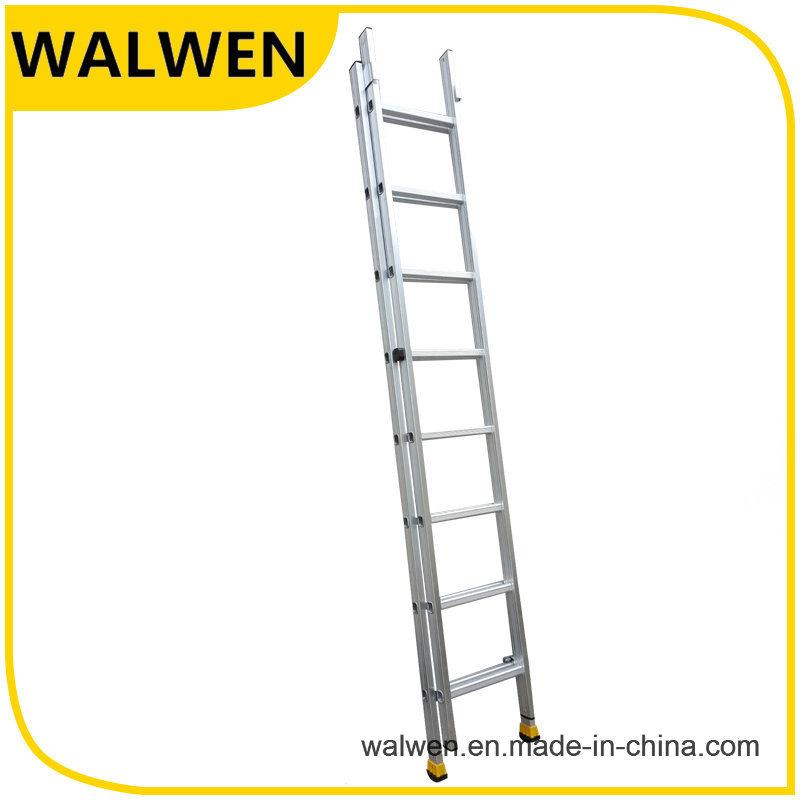 2 Section Multi-Purpose Aluminum Telescopic Folding Ladder