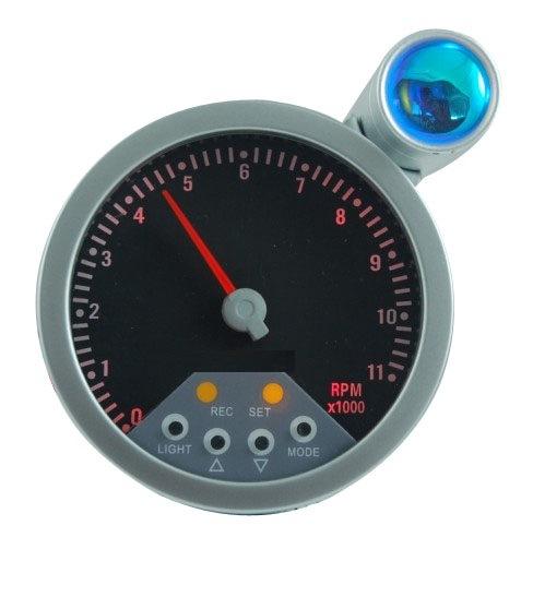 """3 3/4"""" (95mm) Tachometer for 7 LED Color Tachometer (8200SB-7)"""