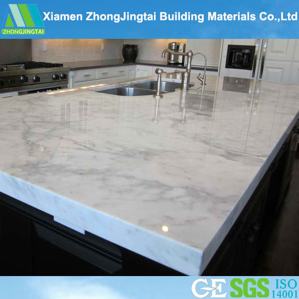 High Quality White Quartz Solid Artificial Marble for Countertops