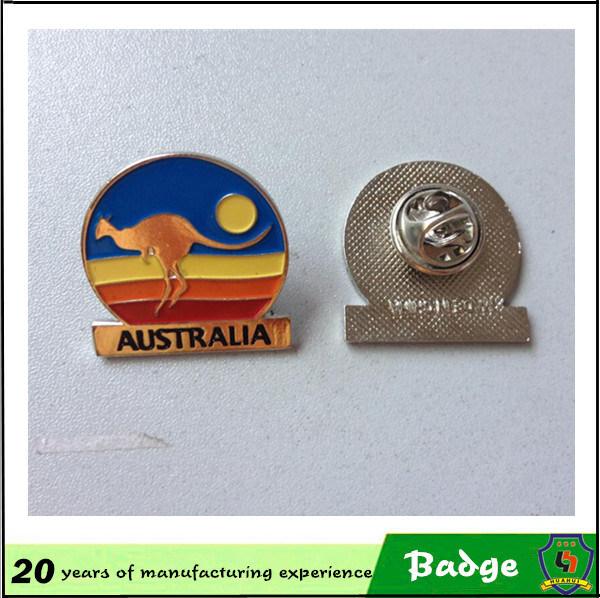 Custom Metal 3D Enamel Badge