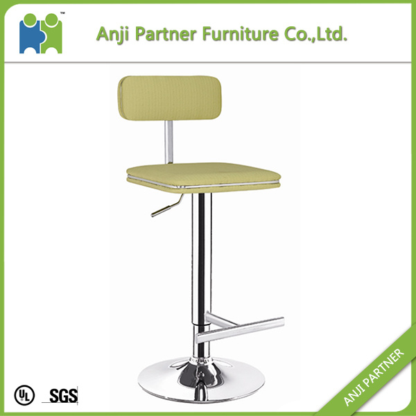 with High Quality Soft Vintage Fabric Bar Stool (Mitag)