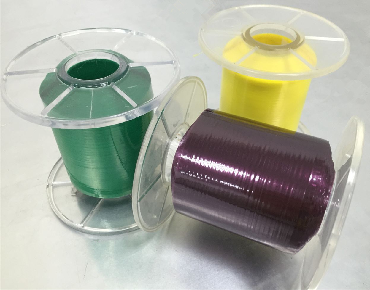 Colorful Mylar Hot Melt Coating Foil Insulation Film Polyester Tape in Minuteness Roll Manufacture