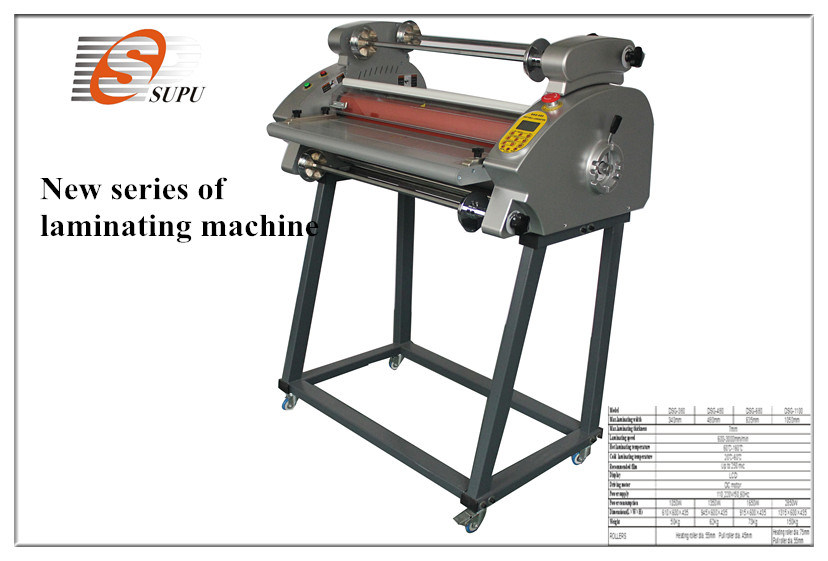 New Series of Electric Independent Temperature Laminating Machine