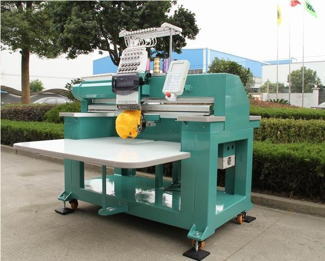 Good Price Single Head Tubular Embroidery Machine for Small Business