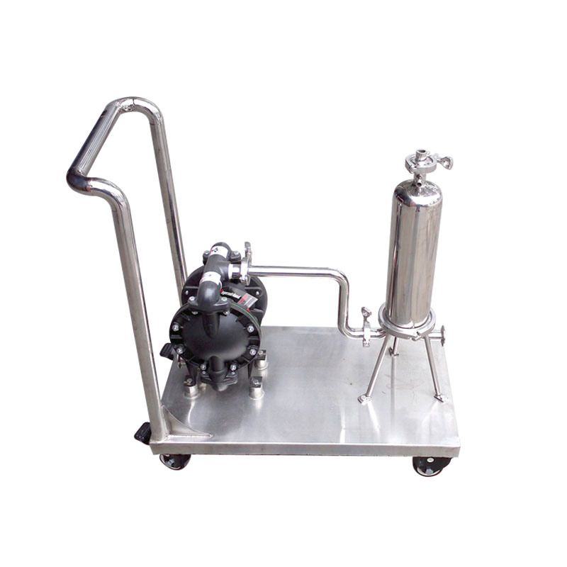 Stainless Steel Cartridge Filter Housing with Pump