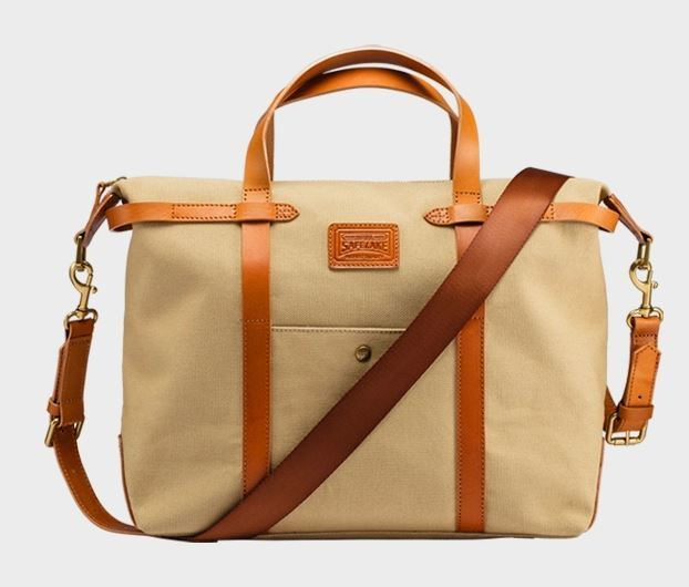 Fashion Big Canvas Travel Weekend Bag (N501)