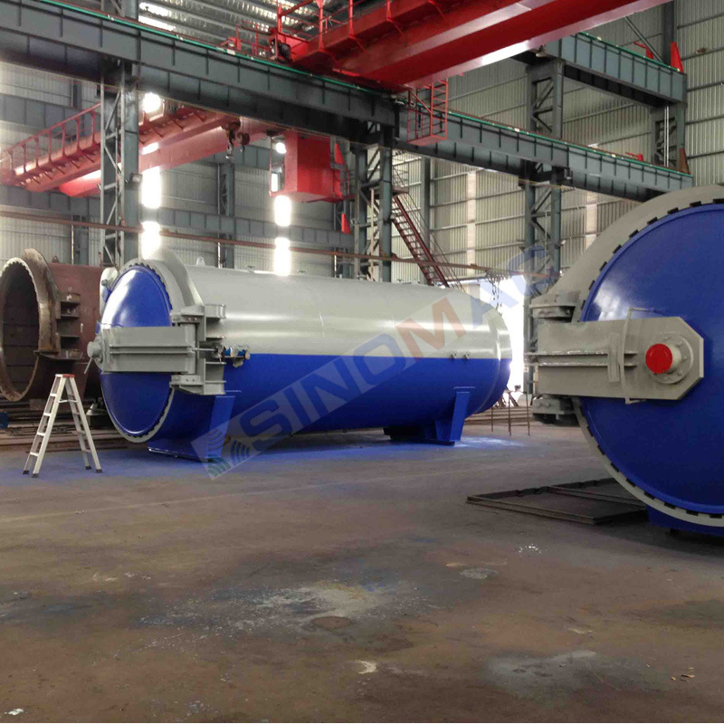 3000X6000mm CE Certified Safety Architectural Glass Laminated Autoclave (SN-BGF3060)
