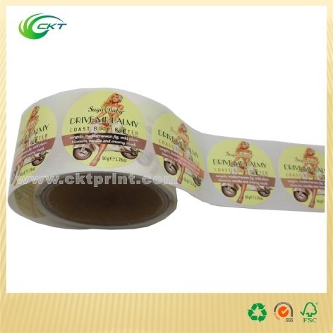 Creative Label Sticker with Color Printing for Roll (CKT-LA-448)
