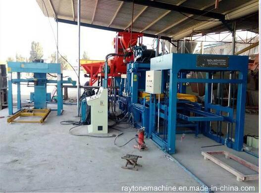Qt4-15D Automatic Hollow Block Making Machine Concrete Paver Brick Machine