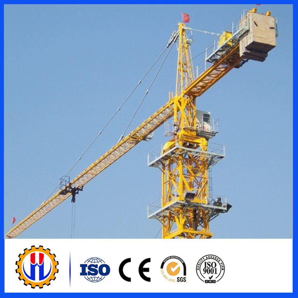Chinese Tower Crane Manufacturer Qtz125-6015 10t Tower Crane
