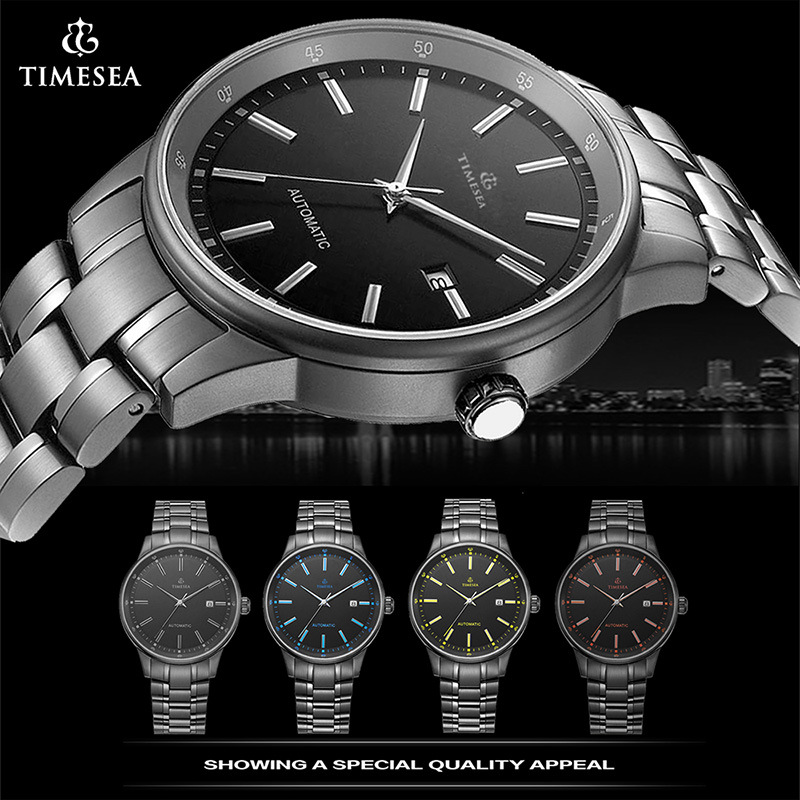 Timesea Top Grade Automatic Mechanical Watch Men′s Wrist Watch with Waterproof Quality 72290