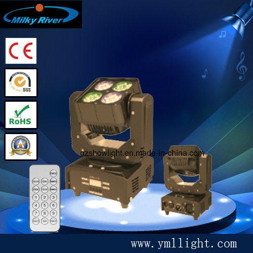 Super Mini Zoom 4X15W Moving Head LED Light