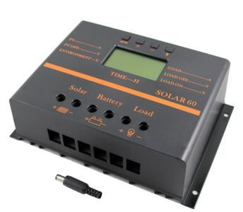 80A 12V/24V Solar Panel Charge Controller for Battery Charger Regulator with LCD S80