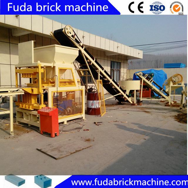 Automatic Soil Brick Machine Interlocking Clay Block Making Machine