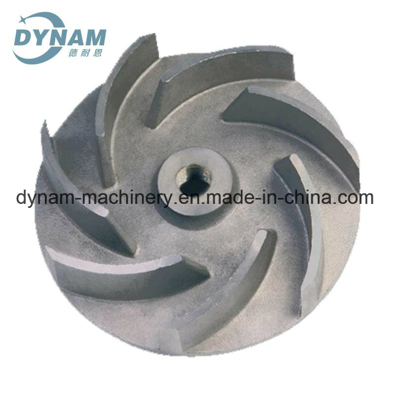 Machinery Casting Part Impeller CNC Machining Sand Iron Casting