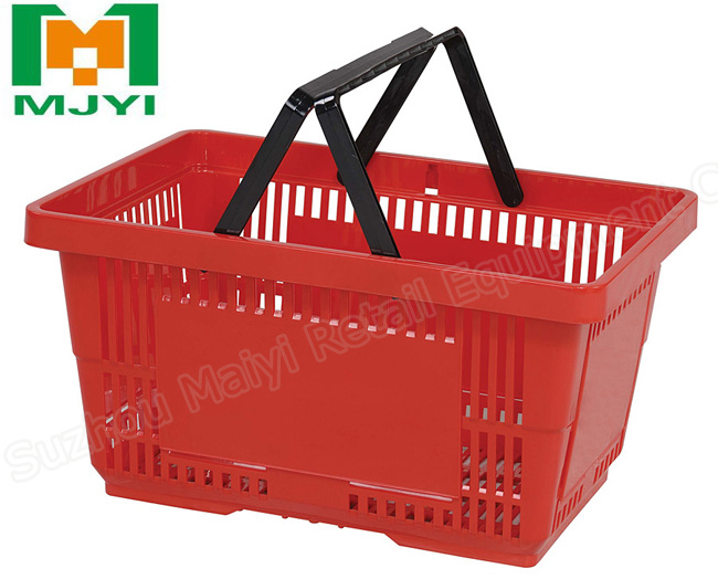 Plastic Hand Basket Shopping Basket
