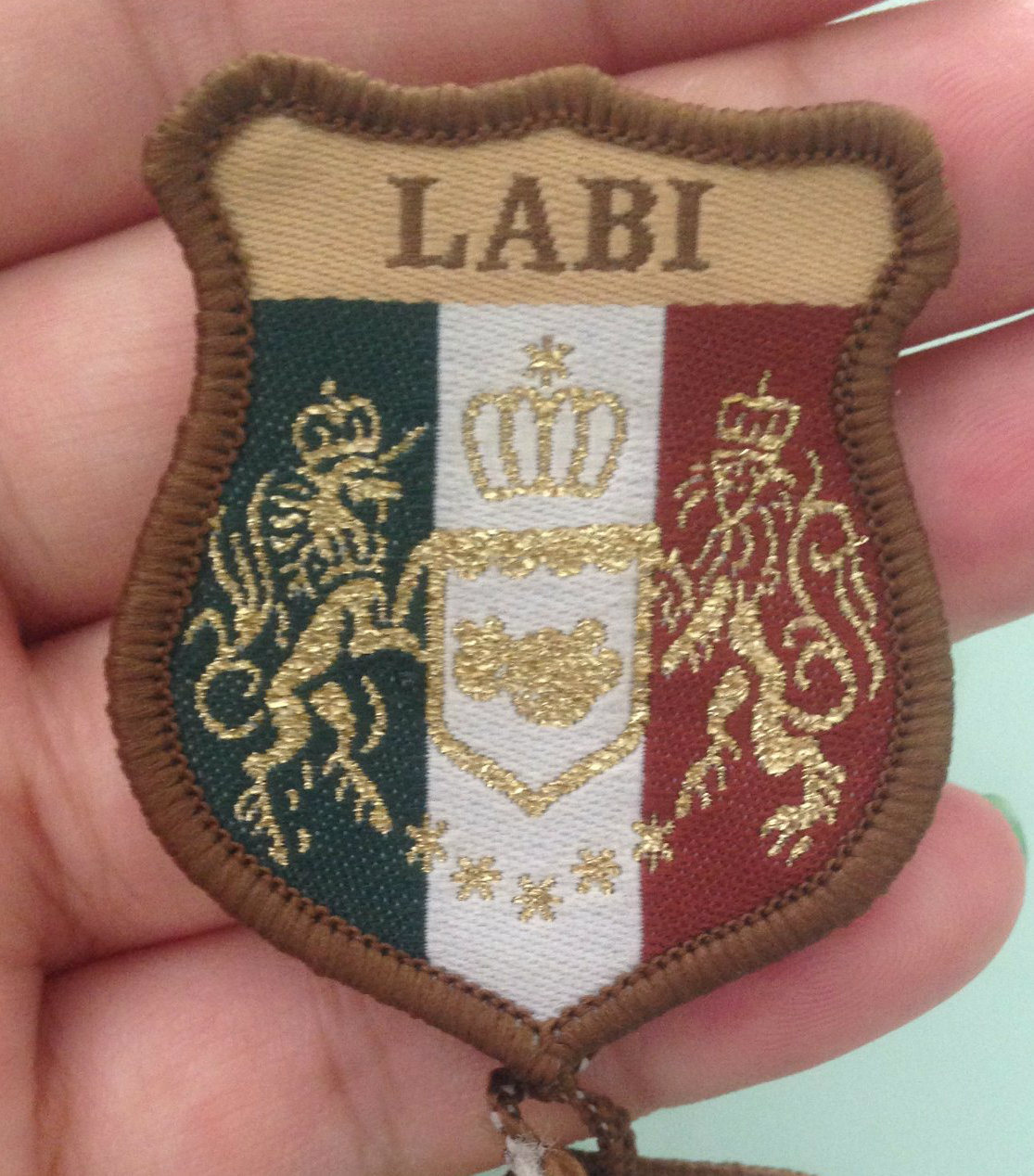 Embroidery Woven Badges, Custom Patch Manufacturers (GZHY-KA-089)