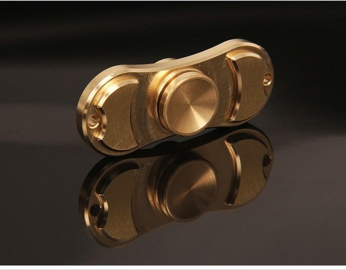 Brass Fidget Spinner Hand Brass Fidget Spinner for Release Pressure