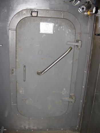 Marine Aluminum Gastight Door