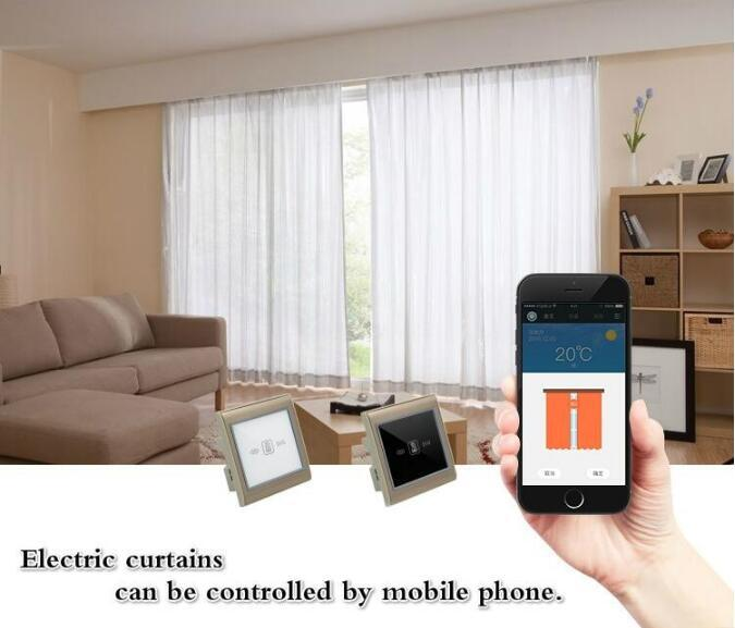 Phone APP Controlled Zigbee Smart Home Automation System Curtain Switch