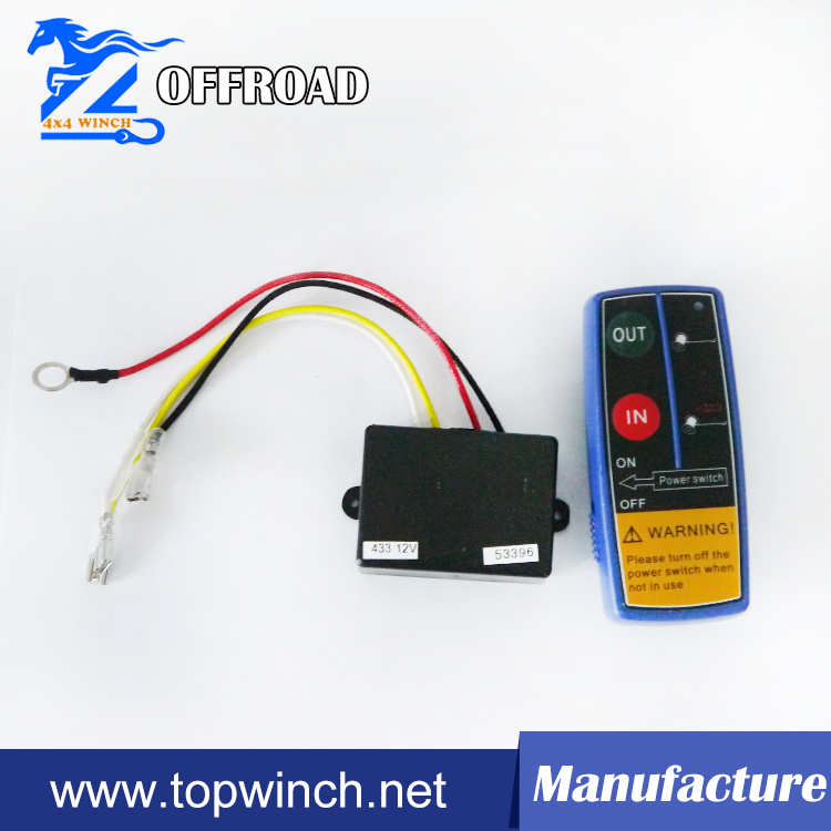 Wireless Remote Control for Electric Winch