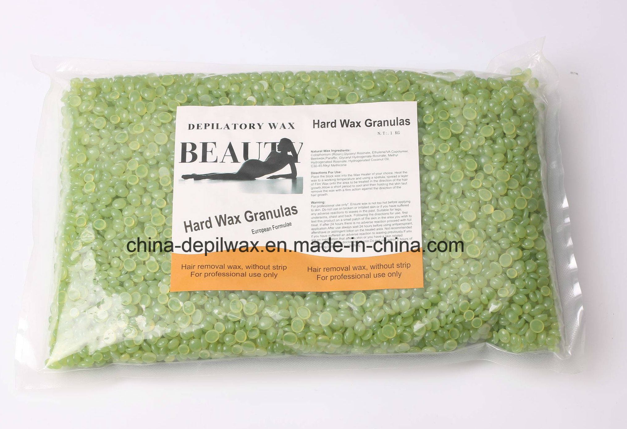 Depilatory Wax Aloe Vera Hard Wax Pellets