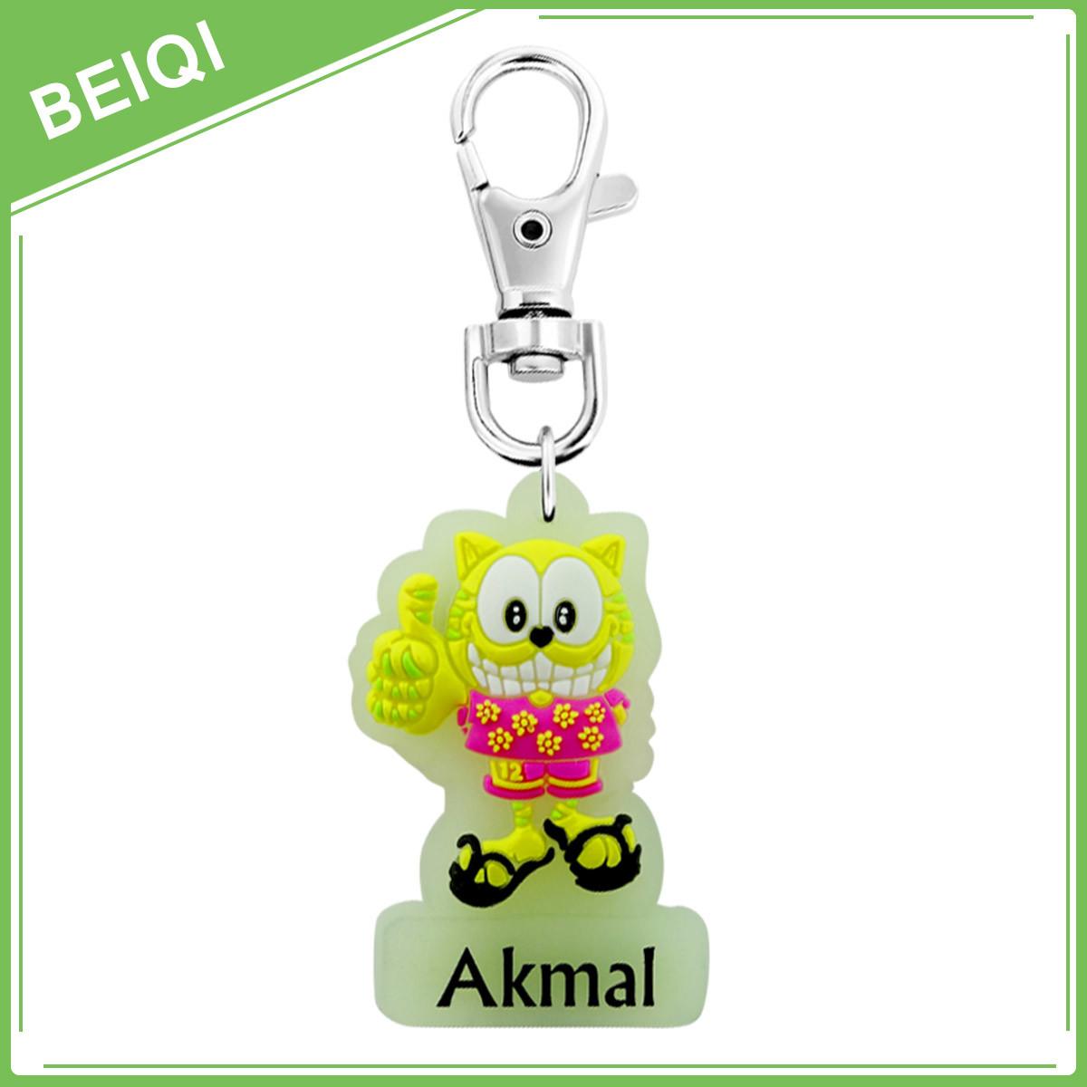 3D Custom Rubber Promotion Soft PVC Keychain
