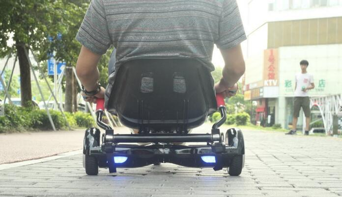 Hoverseat Hoverkart for 6.5, 8, 10 Inch Hoverboard Accessories Smart Electric Scooter Go-Karting Karting