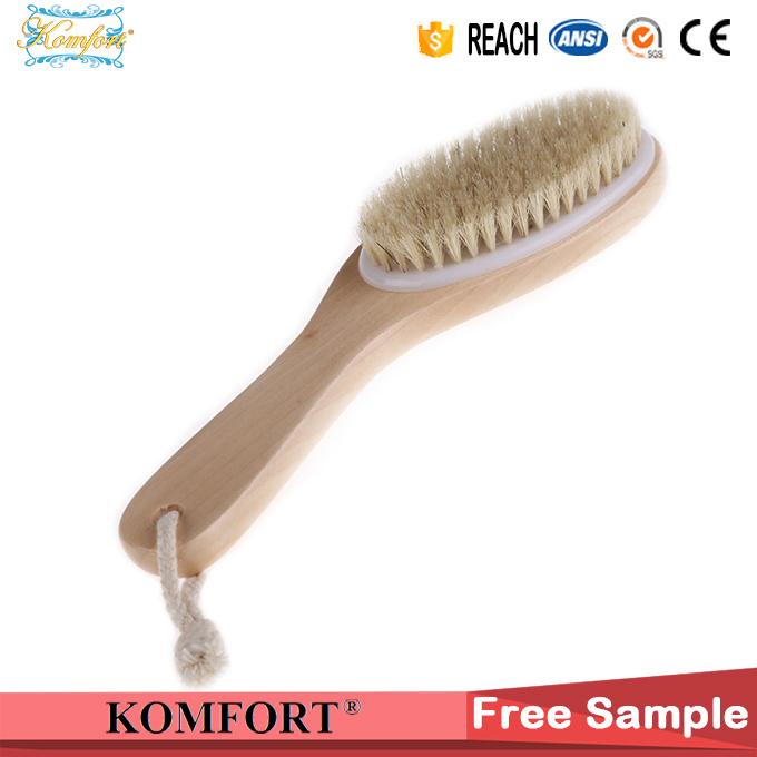 SPA Natural Bristle Bath Wood Foot Scrub Brush Japanese Body Brush