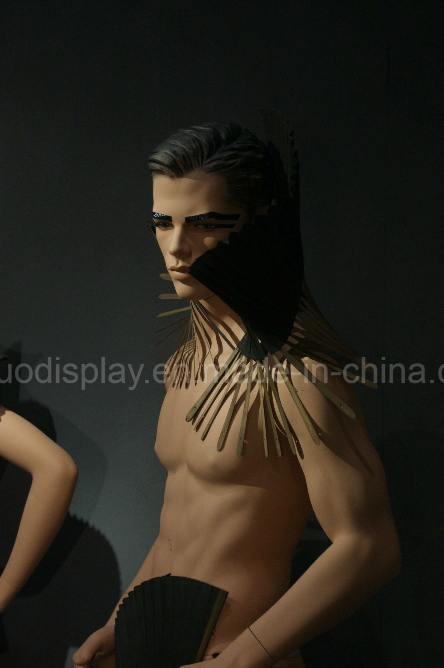 Realistic Male Dress Form Mannequin for Windows Display