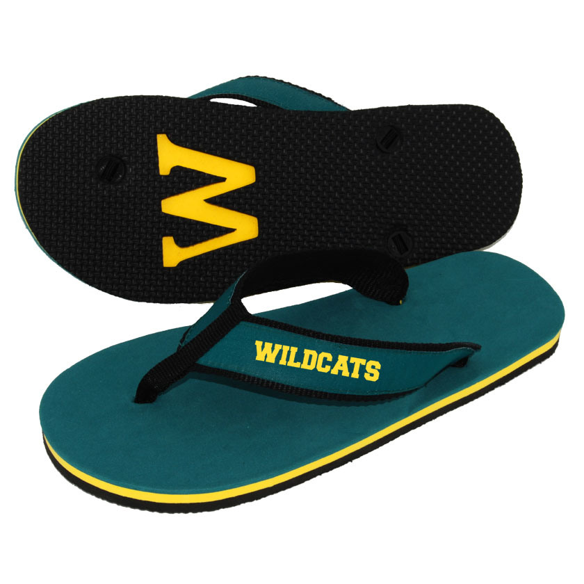 Wide Strap EVA Flip Flop with Debossed Logo