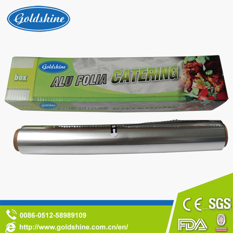200ft Heavy Duty Aluminium Foil Rolls for Food Packing