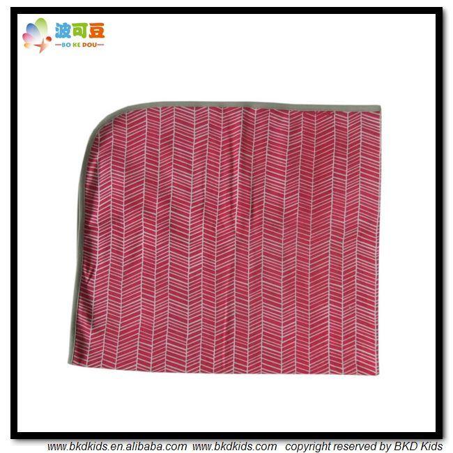 Printing Style Baby Wear Soft Organic Baby Blanket
