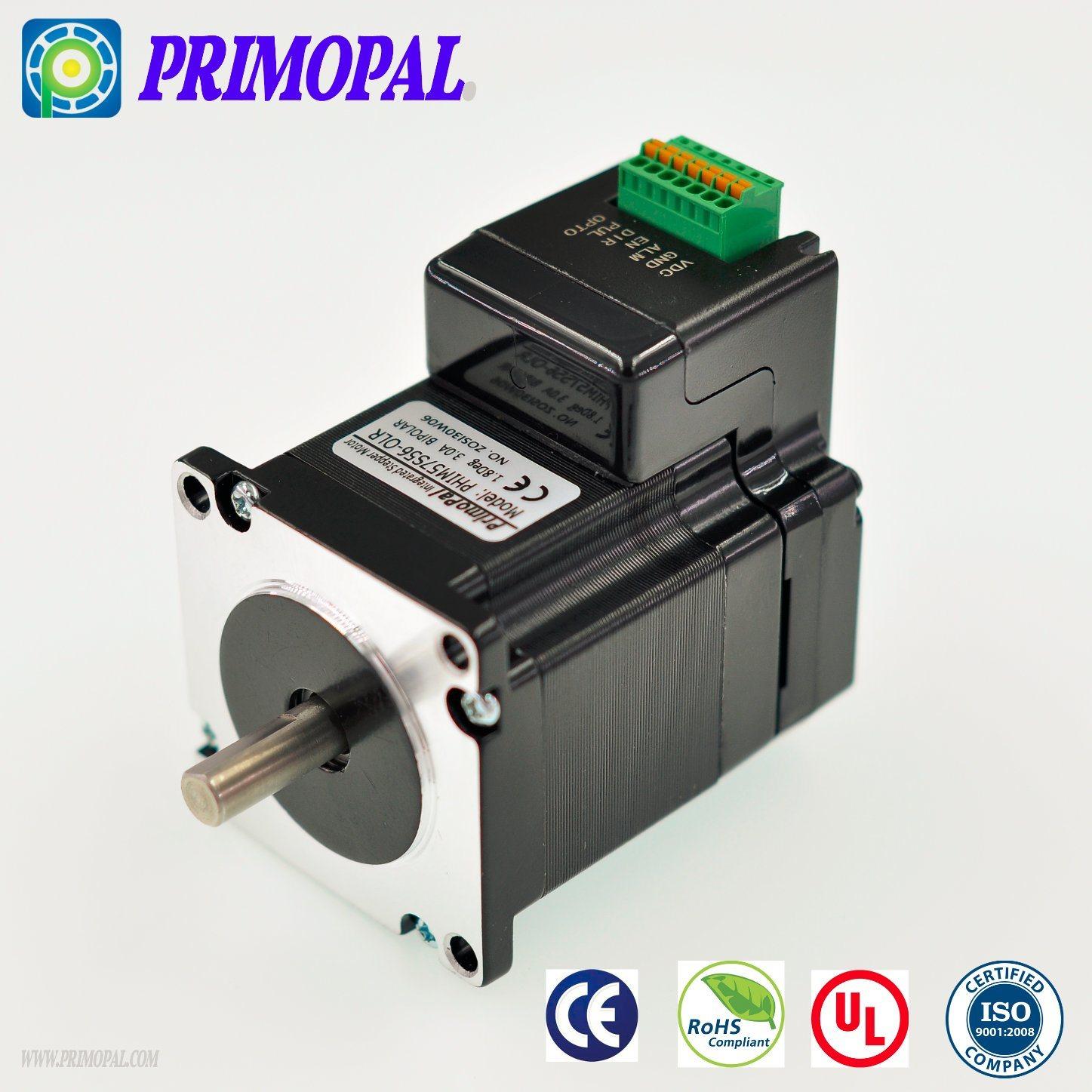 1.8 Deg/Step NEMA 8 Stepper Motor for CNC Applications