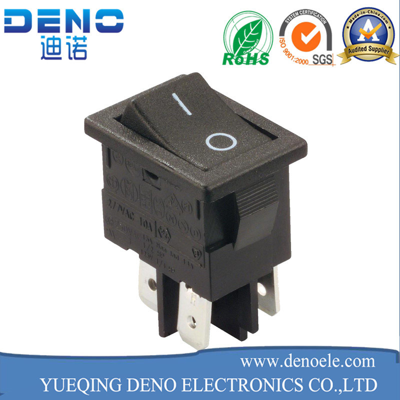 3 Pin Lighted Waterproof Kcd01 Kcd1 Rocker Switch