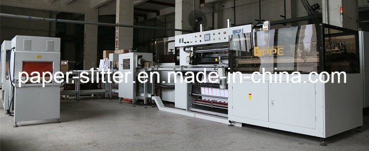 Cash Roll Converting and Packaging Line