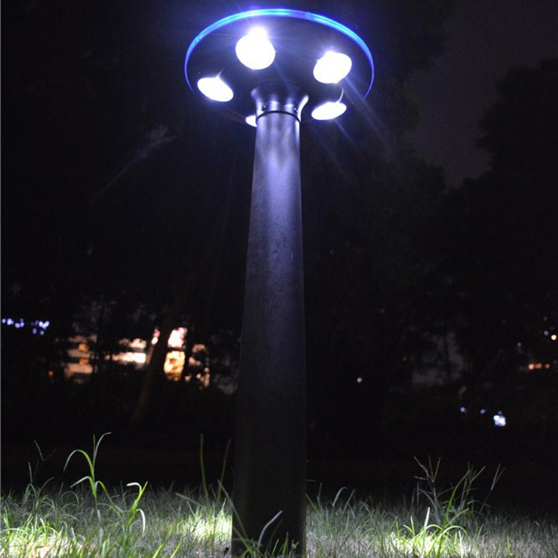Unique Design LED Mushroom Solar Courtyard Light