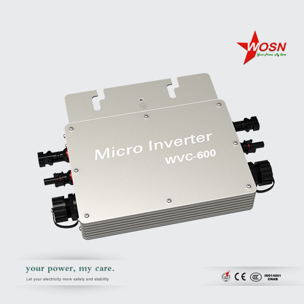 Waterproof on Grid Tie PV Micro Inverter Wvc-600W